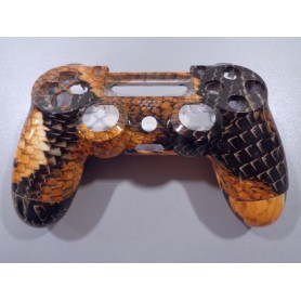Dualshock 4 shell Dragon Orange/Black