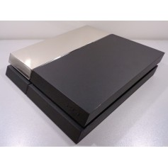 PS4 Phat HDD cover chroom Zilver