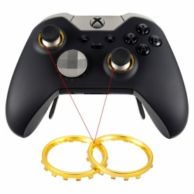 XB1 Elite thumbstick ring chrome Gold
