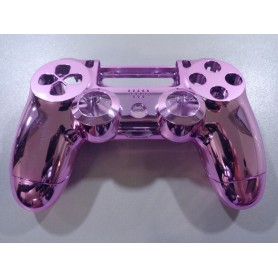 DS4 shell chrome Pink Gen 3 V1