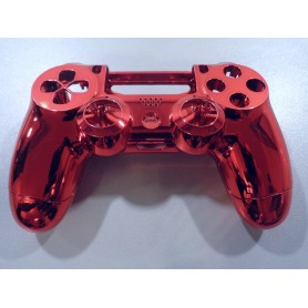 DS4 shell chrome Red Gen 1,2 V1