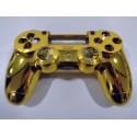 DS4 shell chrome Gold Gen 3 V1