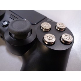 Bullet buttons Silver