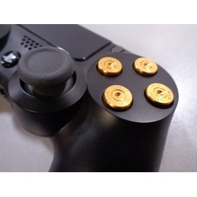 DS4 Bullet buttons Gold