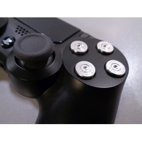 DS4 Bullet buttons Silver