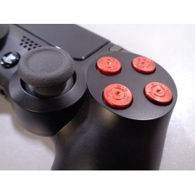 DS4 Bullet buttons Rood