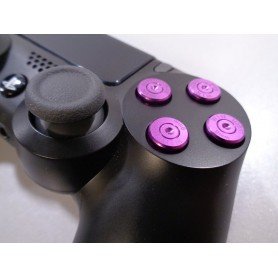 DS4 Bullet buttons Paars
