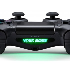 DS4 Lightbar Custom text Badaboom