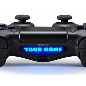 DS4 Lightbar Custom text Bubblegum