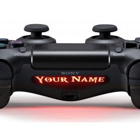 DS4 Lightbar Custom text God of War