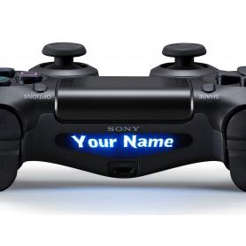 DS4 Lightbar Custom text Los Banditos
