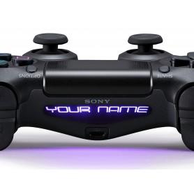 DS4 Lightbar Custom text Nec plus ultra