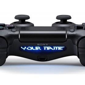 DS4 Lightbar Custom text Perfect dark