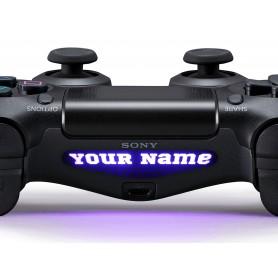 DS4 Lightbar Custom text Sports World