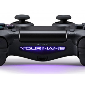 DS4 Lightbar Custom text The rave is in your pants
