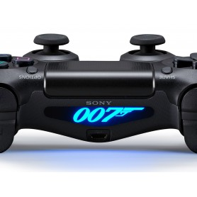 DS4 Lightbar James Bond 007 logo