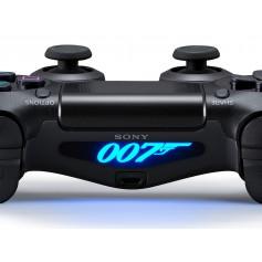 DS4 Lightbar James Bond 007 logo
