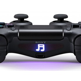 DS4 Lightbar Music Note