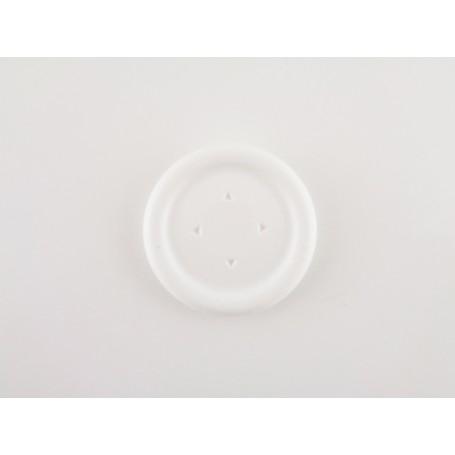 DS4 round Dpad button White
