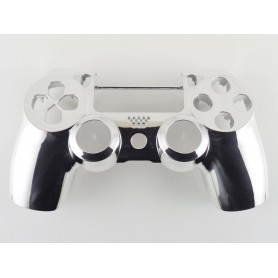DS4 shell chrome Silver Gen 4 V2