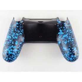 DS4 shell Rubber Grip Blue Gen 4,5 V2