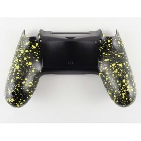 DS4 shell Rubber Grip Yellow Gen 4,5 V2