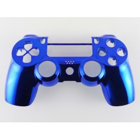 DS4 shell chrome Blue Gen 4,5 V2