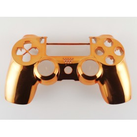 DS4 shell chrome Orange Gen 4,5 V2