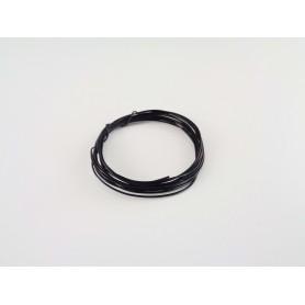 Draad zwart 15 cm