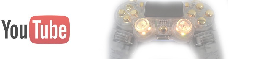 DS4 Transparent/Gold & LED